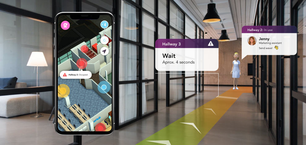 smartcitti wrld3d launch safedistance app as 47 of the uk workforce are anxious about returning to work post lockdown