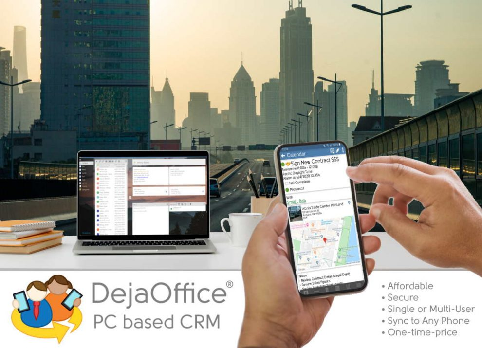 saas crm market disrupted by dejaoffice affordable pc based crm in 2021