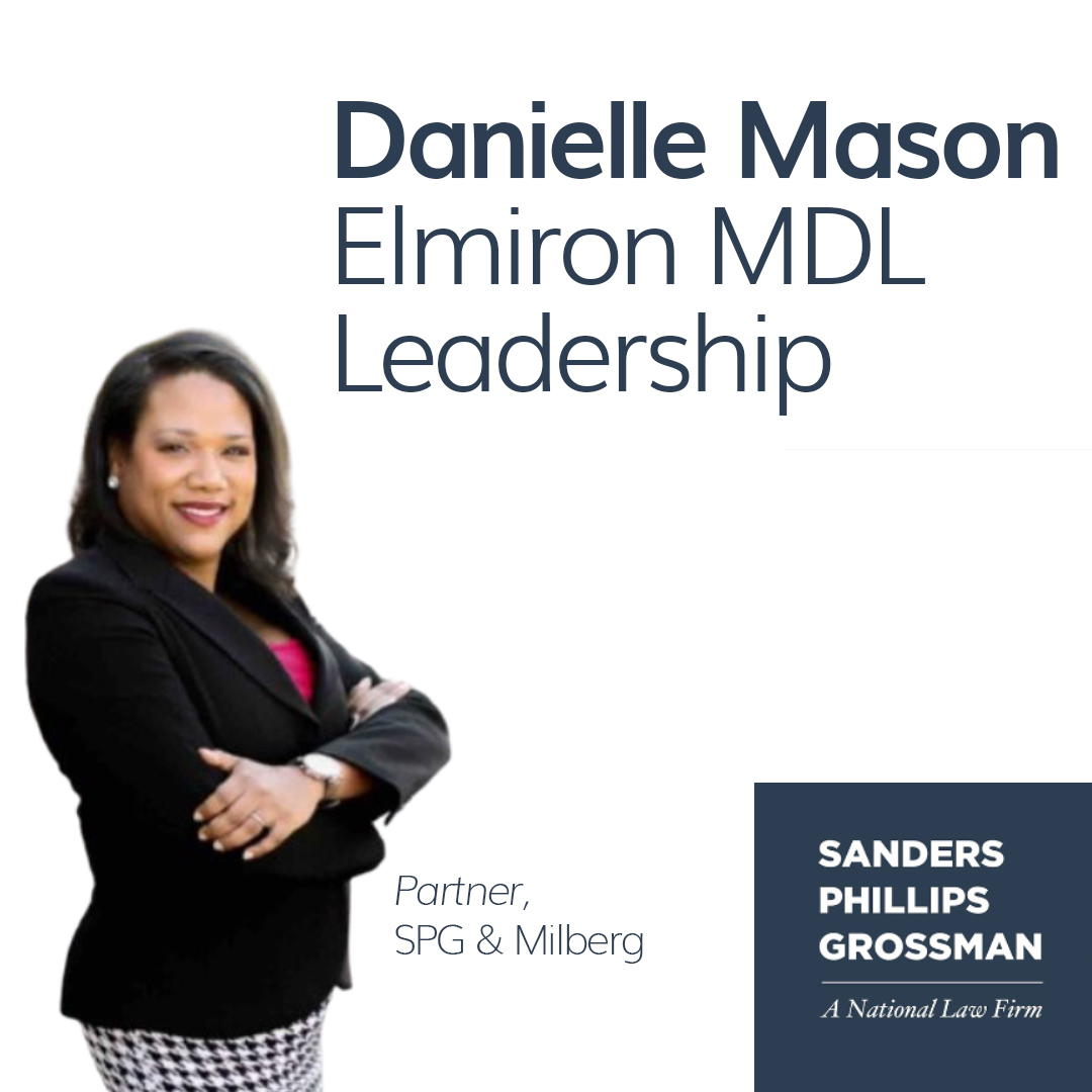 spgs danielle mason appointed to elmiron mdl leadership team