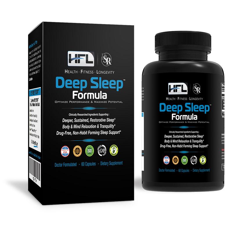 hfl deep sleep formula supplement reviews safe ingredients