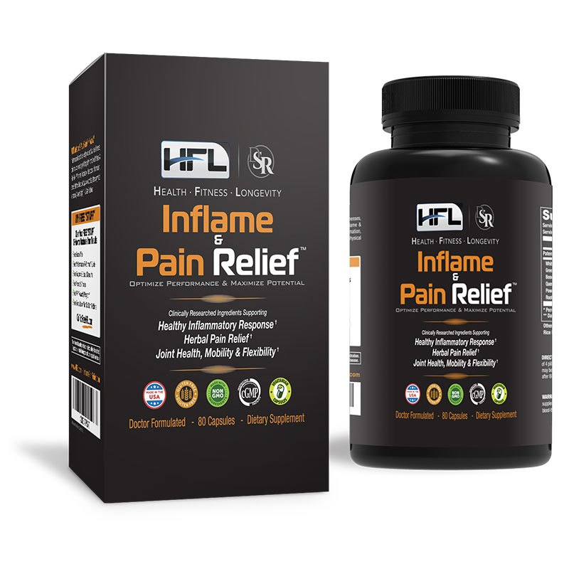 hfl inflame pain relief supplement reviews safe ingredients