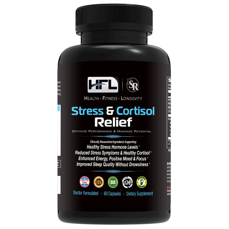 hfl stress cortisol relief supplement reviews safe ingredients
