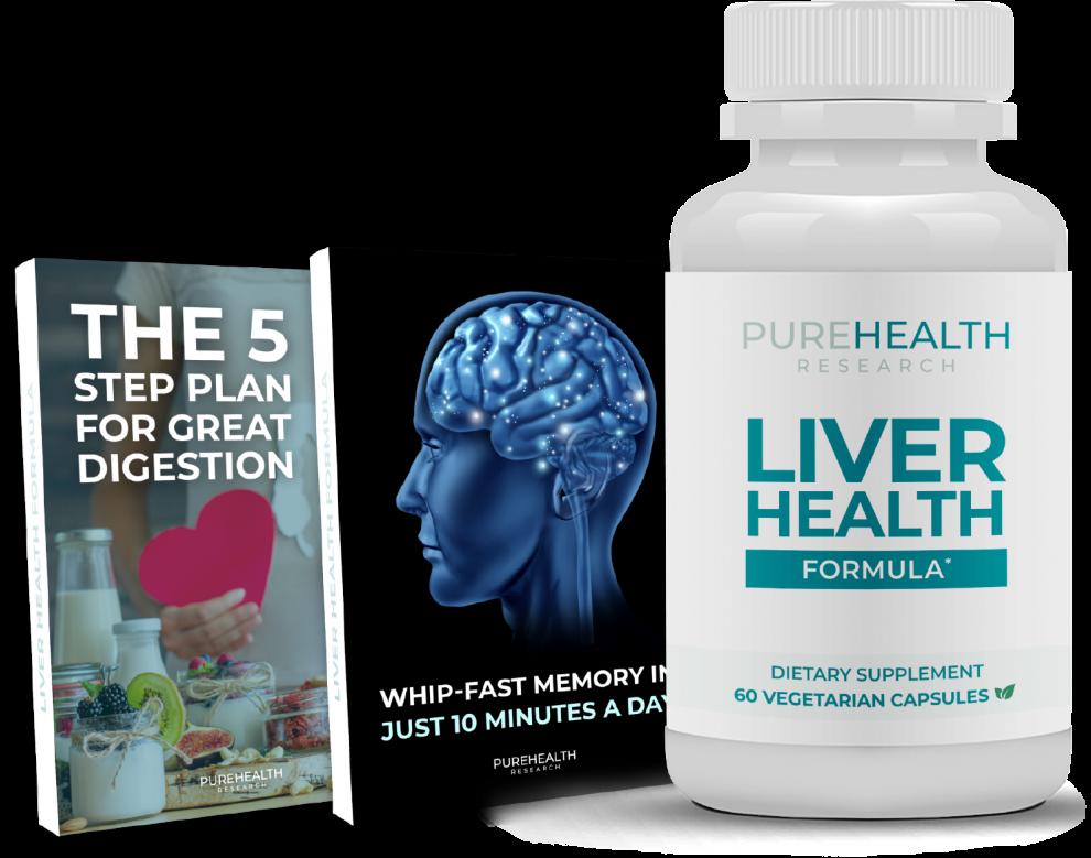 purehealths liver health formula reviews safe ingredients