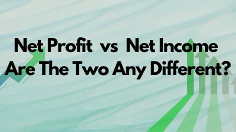 Net Profit vs Net Income