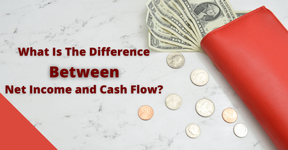 difference between net income and cash flow